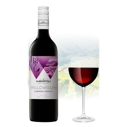 De Bortoli WillowGlen Cabernet & Merlot Australian Red Wine 750 ml, DEBORTOLICABERNET の画像