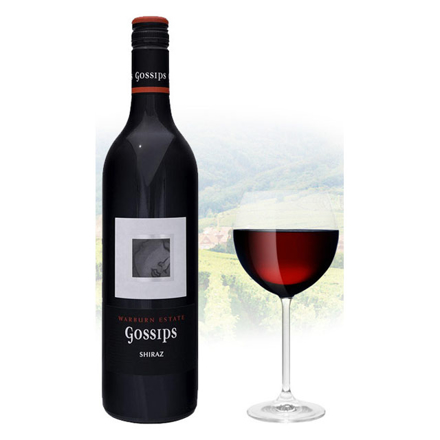 Gossips Shiraz Australian Red Wine 750 ml, GOSSIPSSHIRAZ の画像