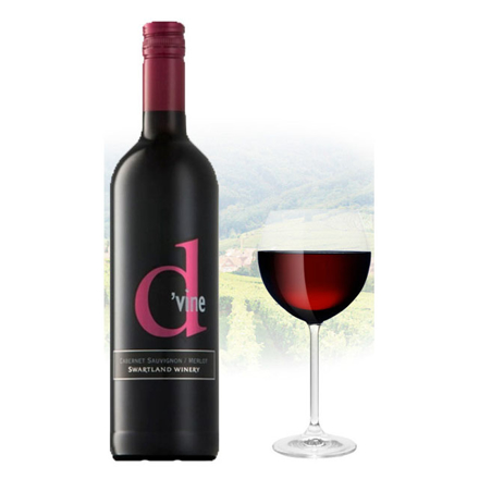 D'vine Cabernet Sauvignon & Merlot South African Red Wine 75 ml, D'VINECABERNET の画像