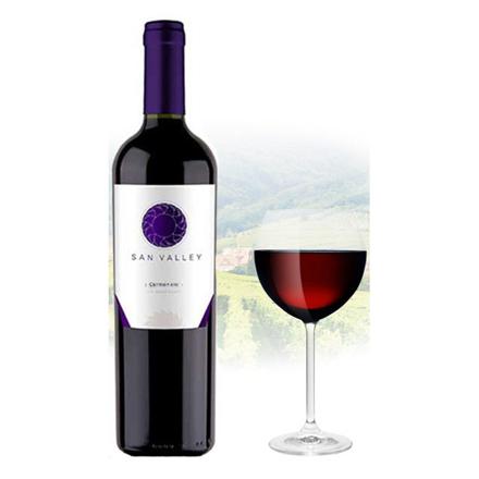 San Valley Carmenere Chilean Red Wine 750 ml, SANVALLEYCARMENERE の画像