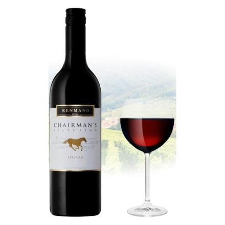 Renmano Chairman's Selection Shiraz Australian Red Wine 750 ml, RENMANOSHIRAZ の画像