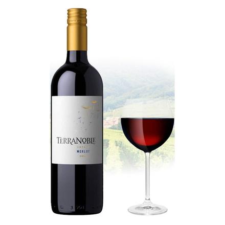 TerraNoble Estate Merlot Chilean Red Wine 750 ml, TERRANBOBLEMERLOT の画像