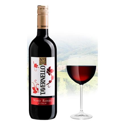 Tavernello Vino Rosso d'Italia Italian Red Wine 750 ml, TAVERNELLOROSSO の画像