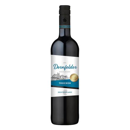 Wein-Genuss Dornfelder Trocken German Red Wine 750 ml, WEINTROCKEN の画像