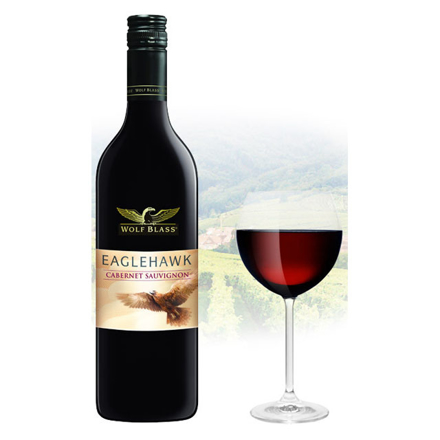 Wolf Blass Eaglehawk Cabernet Sauvignon Australian Red Wine 750 ml, WOLFBLASSCABERNET の画像
