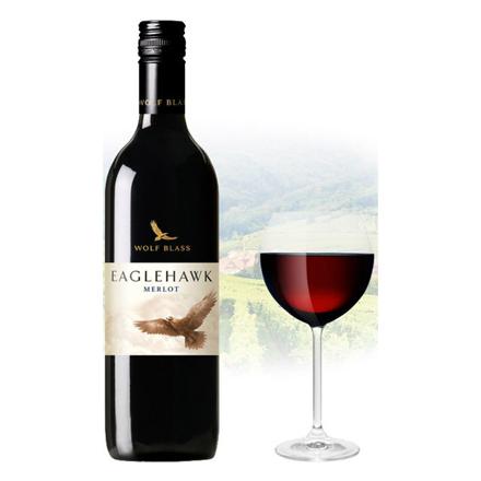Wolf Blass Eaglehawk Merlot Australian Red Wine 750 ml, WOLFBASSMERLO の画像