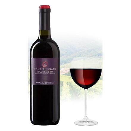 Il Poggio Montepulciano d'Abruzzo Italian Red Wine 750 ml, ILPOGIOD'ABRUZZO の画像