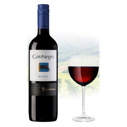 Gato Negro Merlot Chilean Red Wine 750 ml, GATONEGROMERLOT の画像