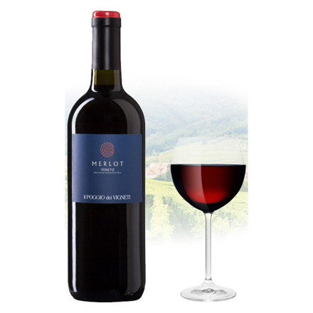 Il Poggio Merlot Italian Red Wine 750 ml, ILPOGGIOMERLOT の画像
