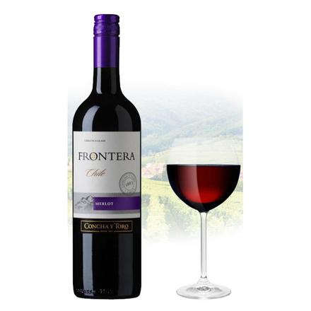 Frontera Merlot Chilean Red Wine 750 ml, FRONTERAMERLOT の画像