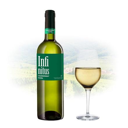Infinitus Chardonnay & Viura Spanish White Wine 750 ml, INFINITUSCHARDONNAY の画像