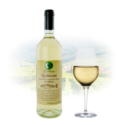 Boido Trebbiano Rubicone IGT Italian White Wine 750 ml, BOIDORUBICONE の画像