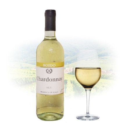 Boido Chardonnay IGT Italian White Wine 750 ml, BOIDOCHARDONNAY の画像