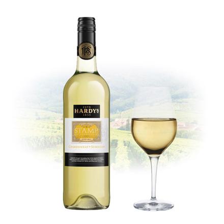 Hardy's Stamp Chardonnay & Sémillon Australian White Wine 750 ml, HARDYSSTAMP の画像