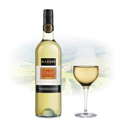 Hardy's Stamp Gewurztraminer Riesling Australian White Wine 750 ml, HARDYSRIESLING の画像