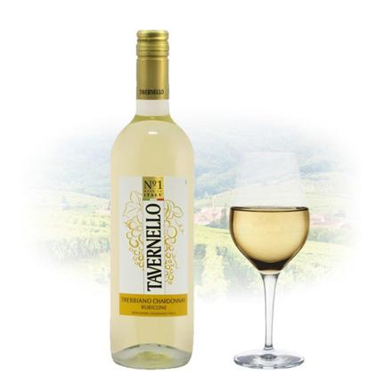 Tavernello Trebbiano Rubicone Chardonnay Italian White Wine 750 ml, TAVERNELLOCHARDONNAY の画像