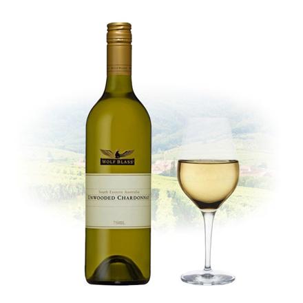 Wolf Blass Unwooded Chardonnay Australian White Wine 750 ml, WOLFBLASSUNWOODED の画像