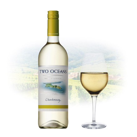 Two Oceans Chardonnay South African White Wine 750 ml, TWOOCEANSCHARDONNAY の画像