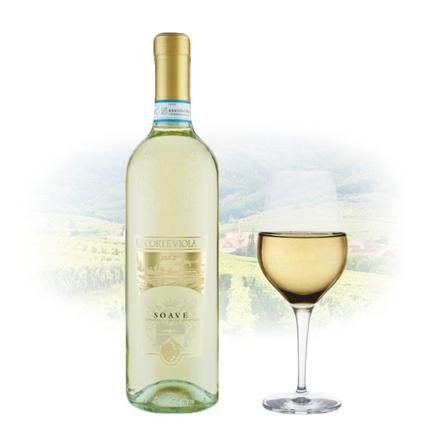 Corte Viola Soave Italian White Wine 750 ml, CORTEVIOLASOAVE の画像