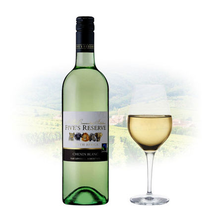 Five's Reserve Chenin Blanc South African White Wine 750 ml, FIVESRESERVECHENIN の画像