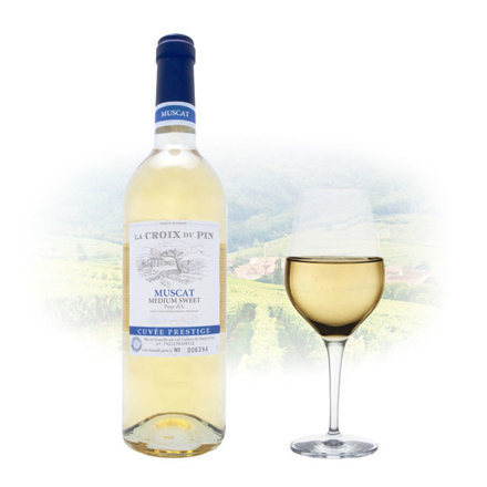 La Croix du Pin Muscat Semi-Sweet French Wine 750 ml, LACROIXMUSCAT の画像