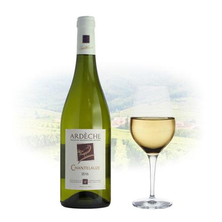 Chantelauze Ardèche Blanc French White Wine 750 ml, CHANTELAUZEBLANC の画像