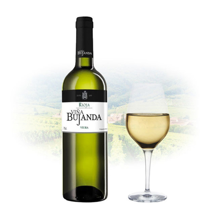 Viña Bujanda Viura Spanish White Wine 750 ml, VINABUJANDAVIURA の画像