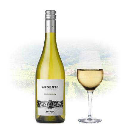Argento Chardonnay Argentinian White Wine 750 ml, ARGENTOCHARDONNAY の画像
