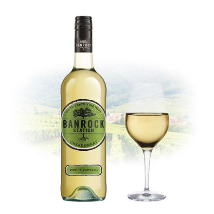 Banrock Station Chardonnay Australian White Wine 750 ml, BANROCKCHARDONNAY の画像