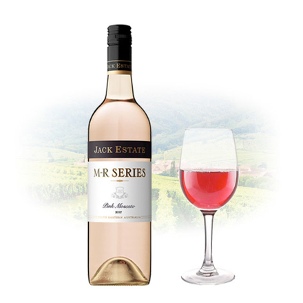 Jack Estate M-R Series Pink Moscato Australian Pink Wine 750 ml, JACKESTATEPINK の画像
