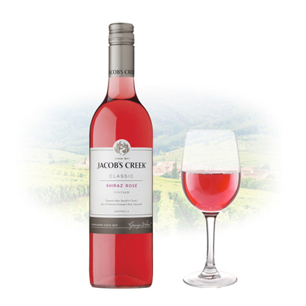 Jacob's Creek Classic Shiraz Rose Australian Pink Wine 750 ml, JACOBSCREEKROSE の画像