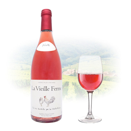 Famille Perrin La Vieille Ferme Rose French Pink Wine 750 ml, FAMILLEPERRINROSE の画像