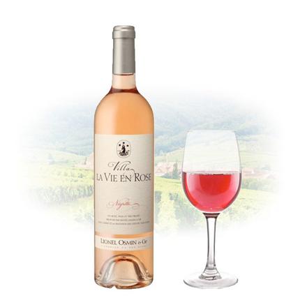 Lionel Osmin Villa La Vie en Rose French Pink Wine 750 ml, LIONELROSE の画像