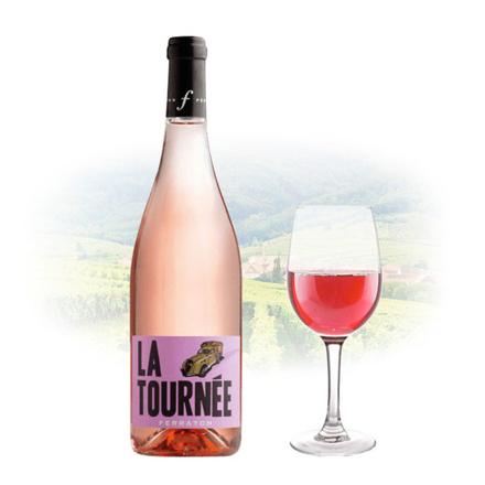 Ferraton Pere & Fils La Tournée Rose French Pink Wine 750 ml, FERRATONROSE の画像