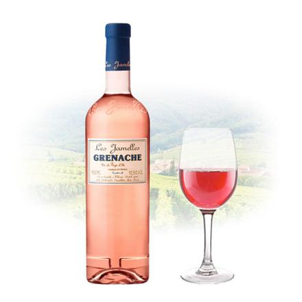 Les Jamelles Grenache Rose French Pink Wine 750 ml, LESJAMELLESROSE の画像