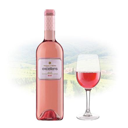 Marques de Caceres Excellens Rioja Rose Spanish Pink Wine 750 ml, MARQUESROSE の画像