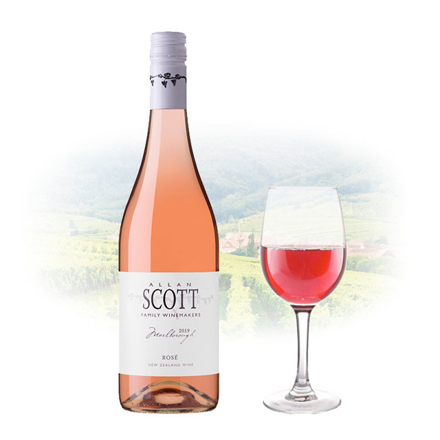 Allan Scott Rose New Zealand Pink Wine 750 ml, ALLANSCOTTROSE の画像
