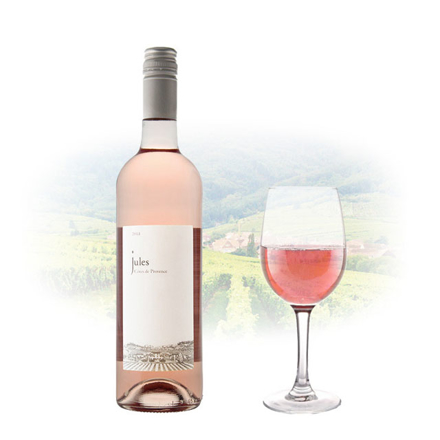 Jules Rose Cotes De Provence AOC French Pink Wine 750 ml, JULESROSE の画像