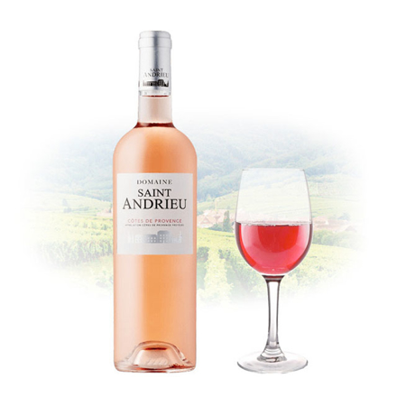 Domaine Saint Andrieu Cotes de Provence Rose French Pink Wine 750 ml, DOMAINEROSE の画像