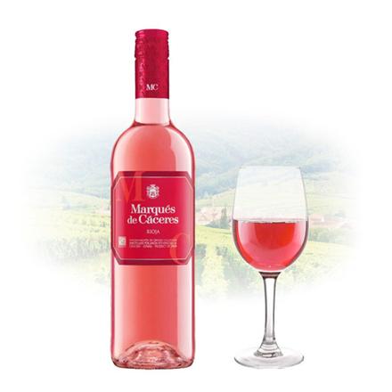 Marques de Cáceres Rioja Dry Rose Spanish Pink Wine 750 ml, MARQUESRIOJA の画像