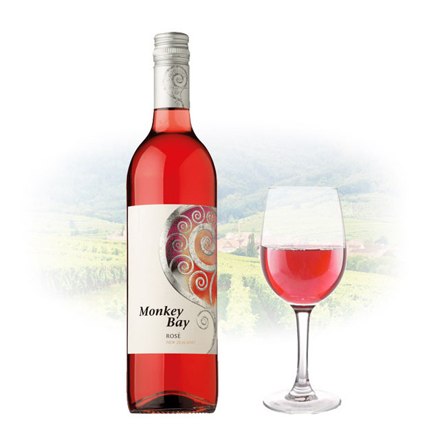 Monkey Bay Rose New Zealand Pink Wine 750 ml, MONKEYBAYROSE の画像