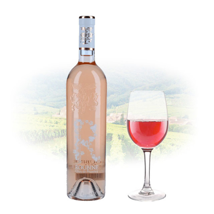 Chateau Roubine 'R' Roubine Rose French Pink Wine 750 ml, CHATEAUROSE の画像