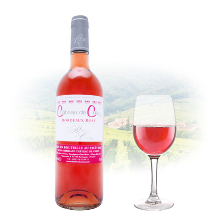Chateau de Crécy La Rose Bordeaux Rose French Pink Wine 750 ml, CHATEAUDECRECYROSE の画像