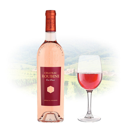 Chateau Roubine Cru Classe Rose French Pink Wine 750 ml, CHATEAUCLASSEROSE の画像