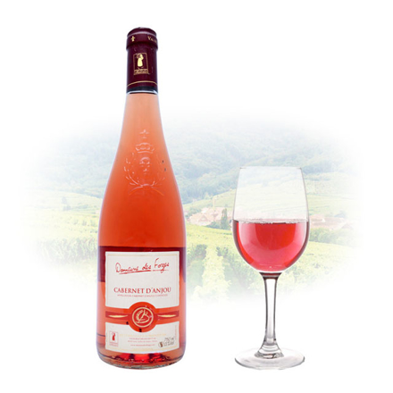 Cabernet d'Anjou Domaine des Forges Rose French Red Wine 750 ml, CABERNETDOMAINEROSE の画像