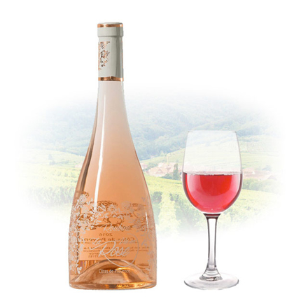 Chateau Roubine La Vie en Rose French Pink Wine 750 ml, CHATEAUROUBINELAVIE の画像