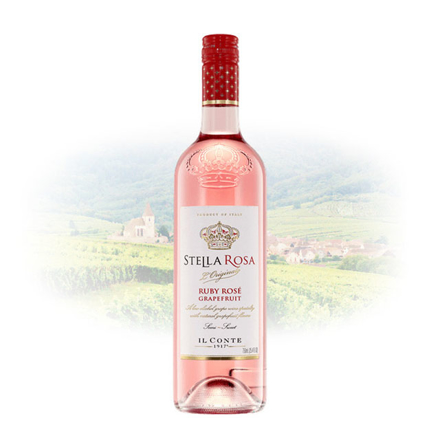 Stella Rosa Ruby Rose Grapefruit (Semi-Sweet) Italian Sweet Wine 750 ml, STELLAROSARUBY の画像