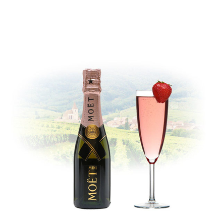 Moet & Chandon Rose Imperial Champagne 200 ml Miniature, MOETROSE の画像