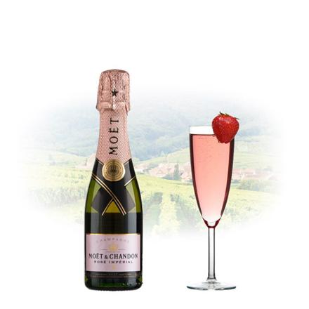 Moet & Chandon Rose Imperial Champagne 375ml (Half Bottle), MOETROSE375 の画像