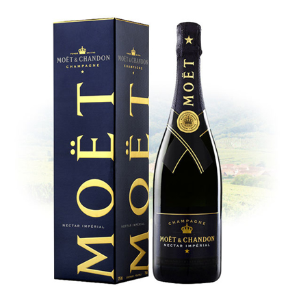 Moet & Chandon Nectar Imperial Champagne 750 ml, MOETNECTAR の画像
